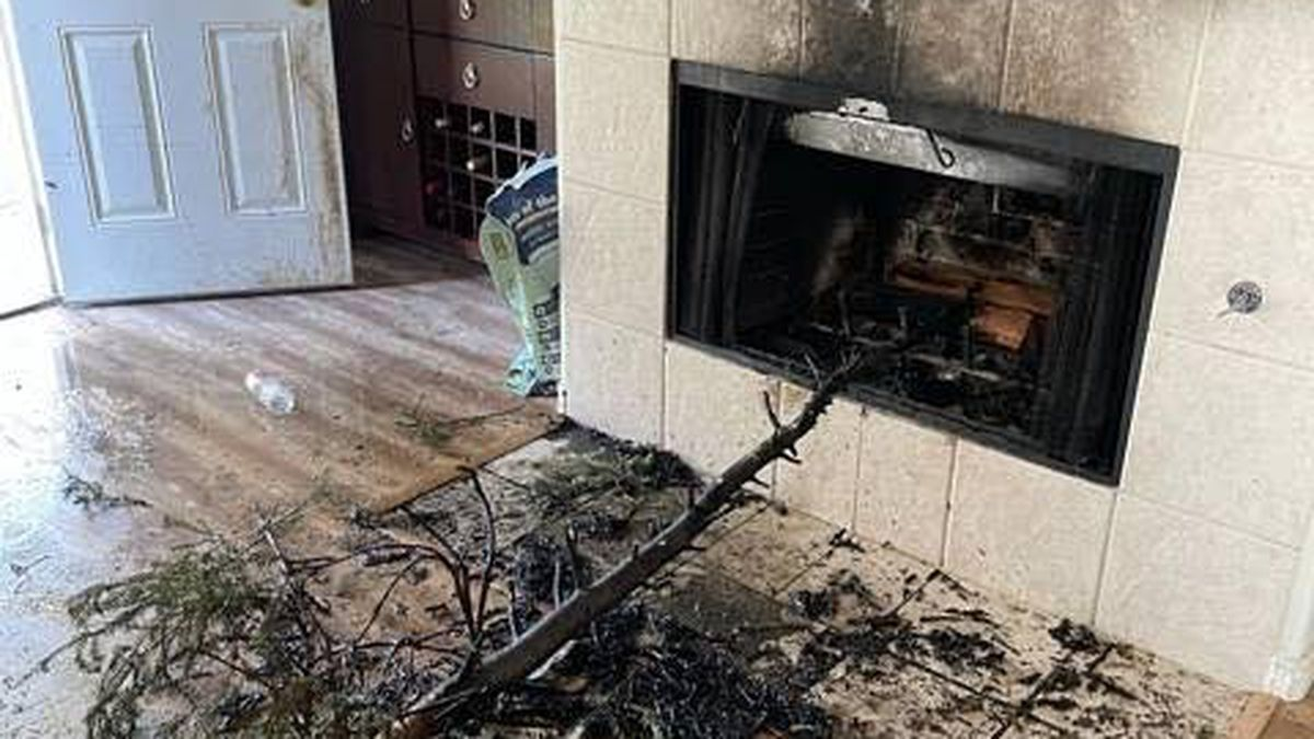 A Facebook post from the McKinney Fire Department shows the aftermath of a fire place in Collin...