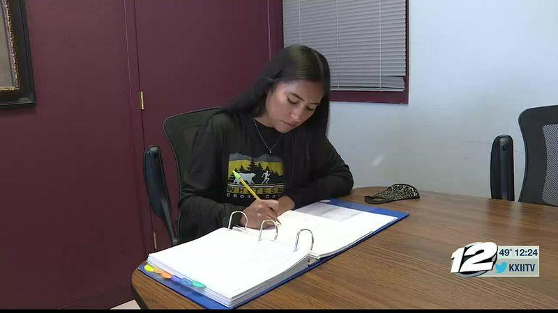 This week's A+ Athlete is Vanesa Melchor of Whitesboro High School.