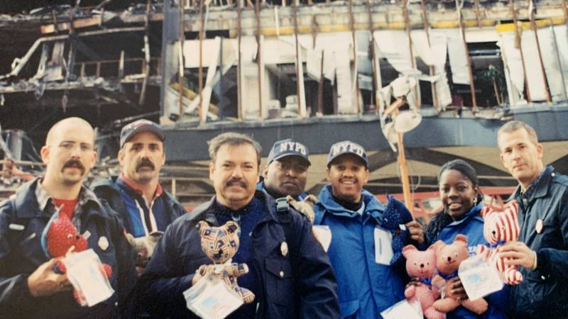 Four Sherman Firemen travelled to New York after 9/11 to pay respects for fallen first responders