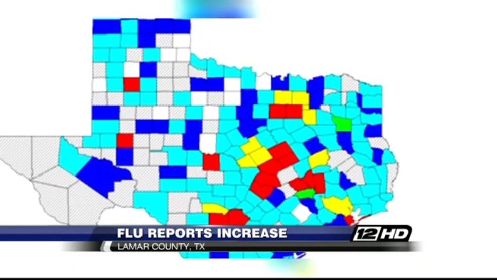 Lamar County flu cases increase