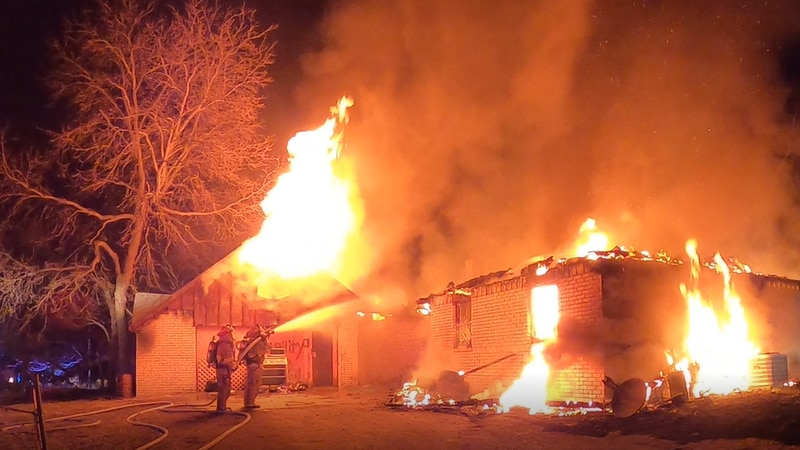 A Davis man is without a home after a fire on Friday night.