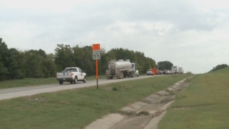 U.S. Highway 70 will be slower for drivers as construction crews widen the highway between...