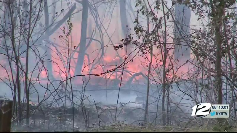 Marshall Co. fire burning for two days 'under control', cause being called 'suspicious.'