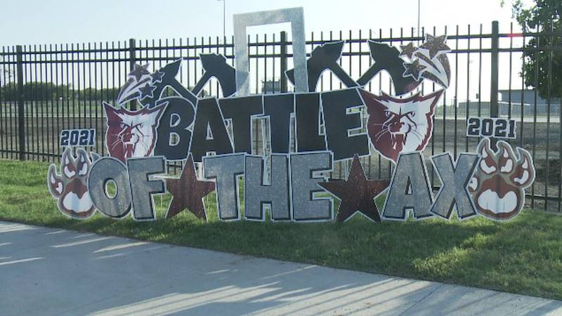 Sherman and Denison hold annual Battle of the Ax pep rally before Fridays game