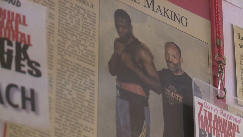 A new mural in Ardmore will honor boxers who got their start in the city. Owner of Gladiators...