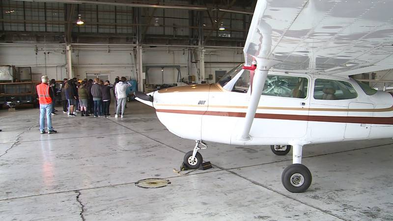 Sherman ISD started a new program this year for students interested in aviation.