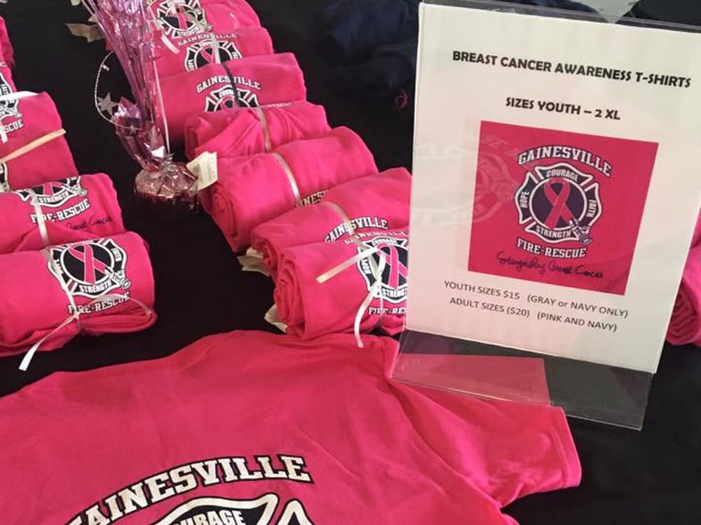 Gainesville Fd Invites Public To Help Them Fight Breast Cancer