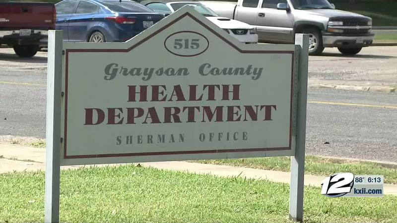 Tuesday was the first day for the Grayson County Health Department giving out booster shots at...