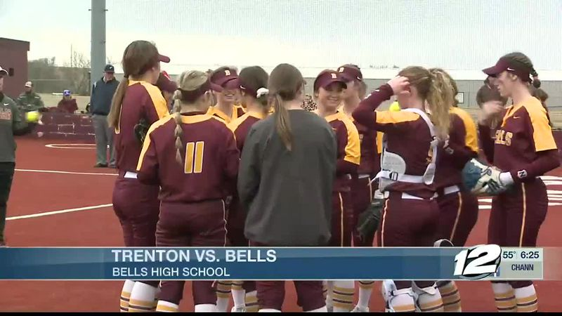 Trenton-Bells Softball Highlights
