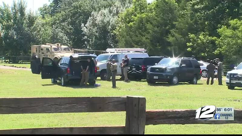 A man surrendered to police after an hours long standoff with law enforcement, in Bells Tuesday...