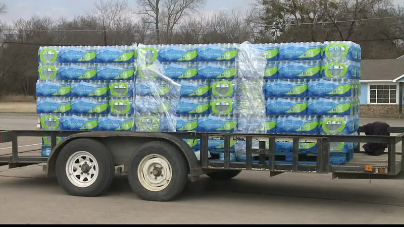 After a winter storm swept through much of Texas, many residents are still without water,...