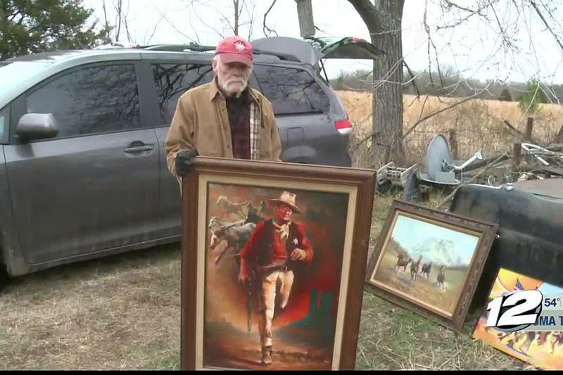 Local legendary artist Jim Baker's home and studio was consumed in a house fire at 6 p.m....