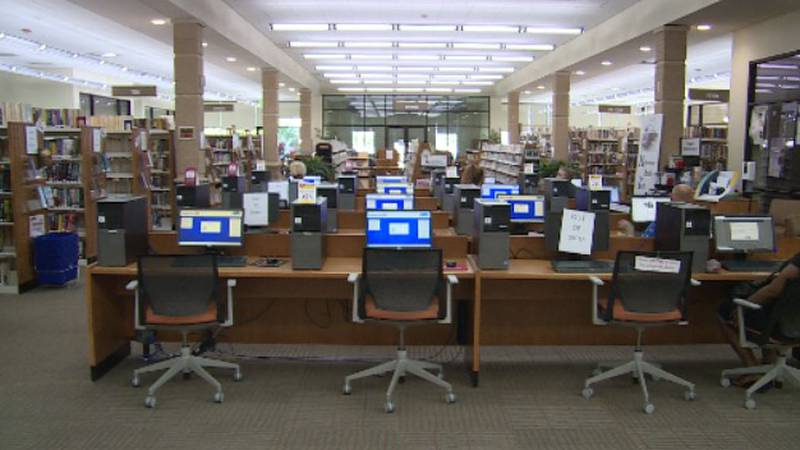 They are the first in-person programs at the Donald W. Reynolds Community Center and Library...