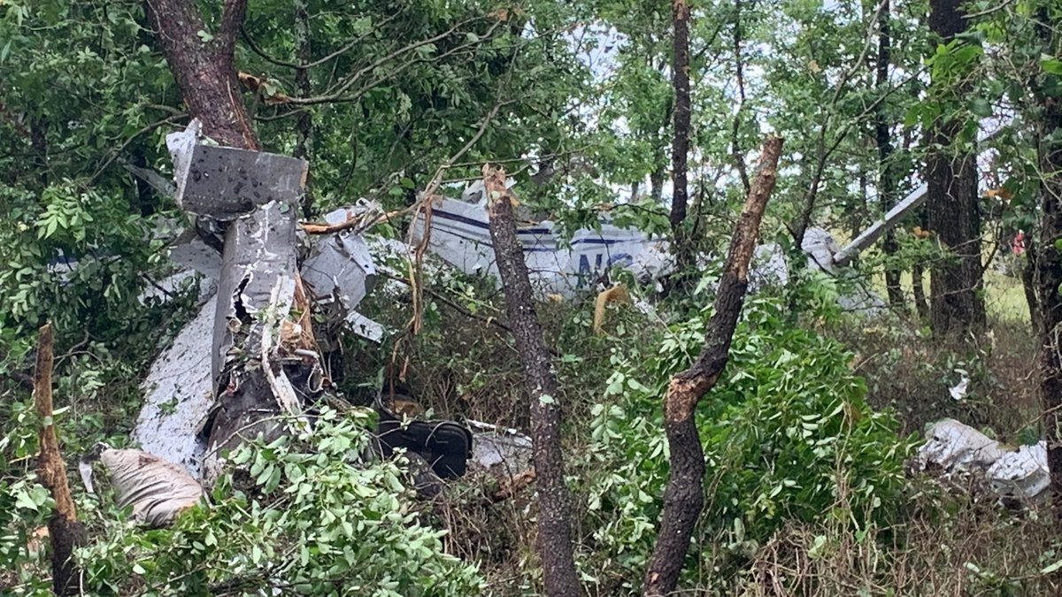 Two Ada men were killed in a plane crash near Roff, Oklahoma, early Friday morning.