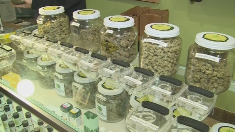 Data from the Oklahoma Tax Commission show sales of medical marijuana in the state are...
