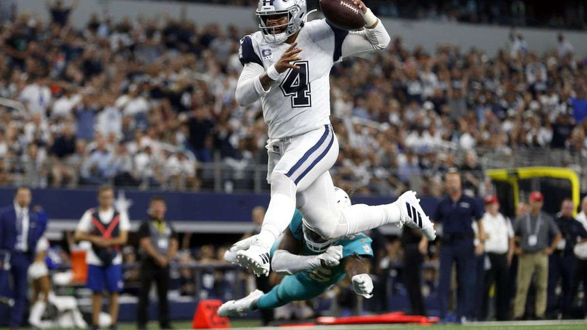Prescott's one-year contract is worth $31.4 million.