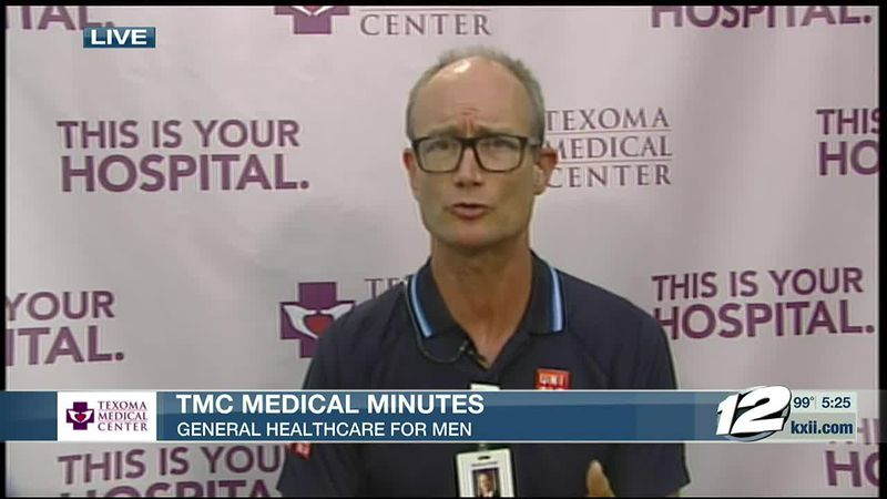 Dr. Duke Carlson discusses general healthcare for men in this edition of TMC Medical Minutes.