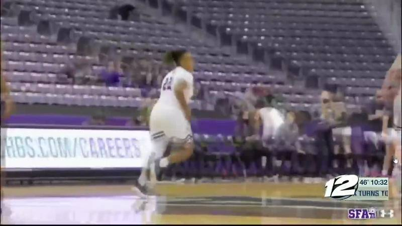 Zya Nugent playing well at SFA