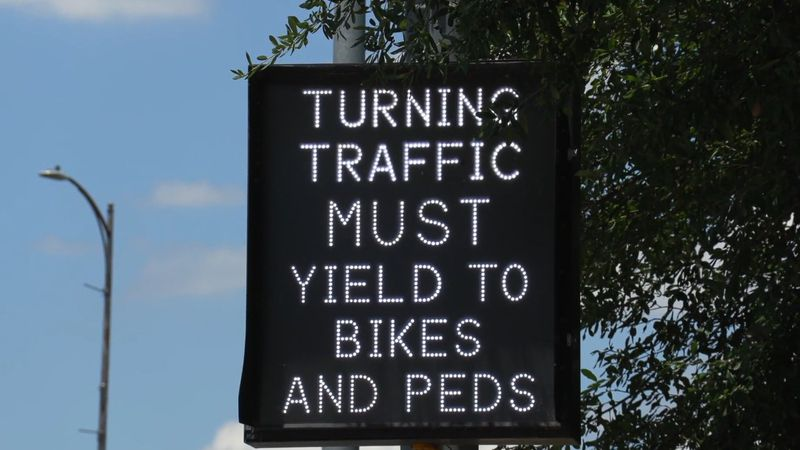 """""""Tired Faces"""" is the new campaign at the Texas Department of Transportation for pedestrian and..."""