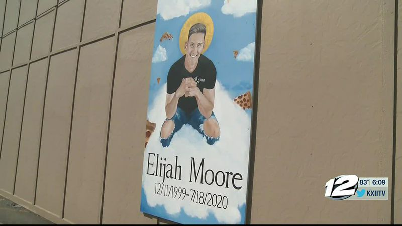 A new mural is gracing downtown Durant honoring a young man who drowned this summer.