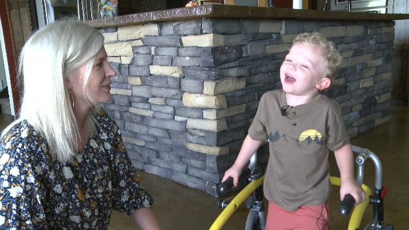 A Caddo 3-year-old is learning to take a stand, on his own, as an advocate of the rare disease...