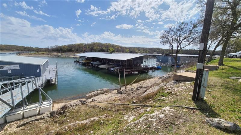 A body was recovered at Eisenhower Yacht Club on Lake Texoma Wednesday morning.
