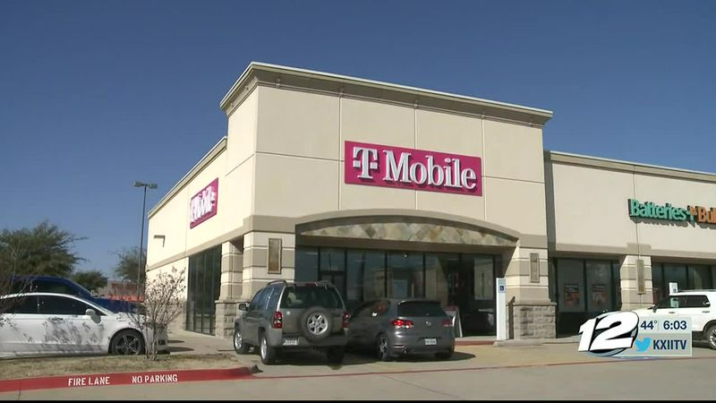 A Sherman T-Mobile store is out over ten thousand dollars in electronics, after it was hit by...