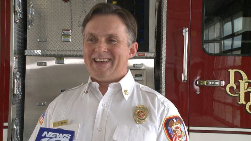 Roger Joines reflects on his time with the department as fire chief and shares who will be...