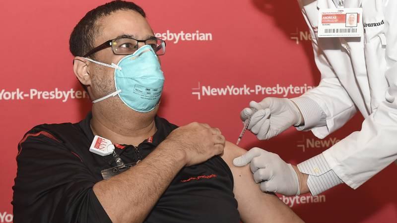 Dr. Jordan Foster, an emergency medicine physician at NewYork-Presbyterian/Columbia University...