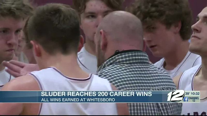Sluder captures 200th win at Whitesboro