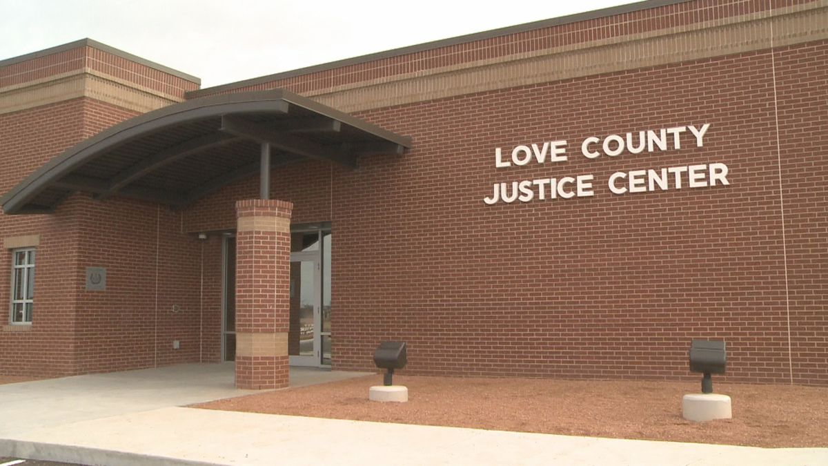The new Love County Justice Center opened it's doors for public tours on Saturday, Dec. 14, 2019.