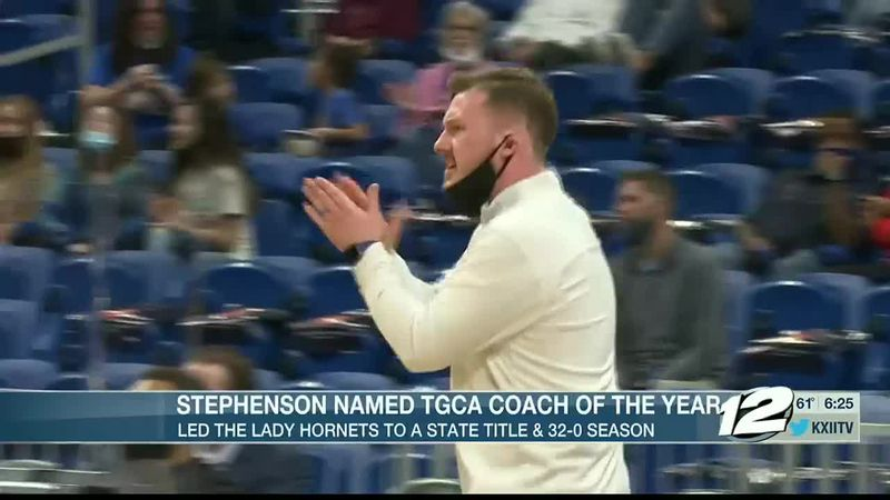 Dodd City's Stephenson named TGCA Coach of the Year