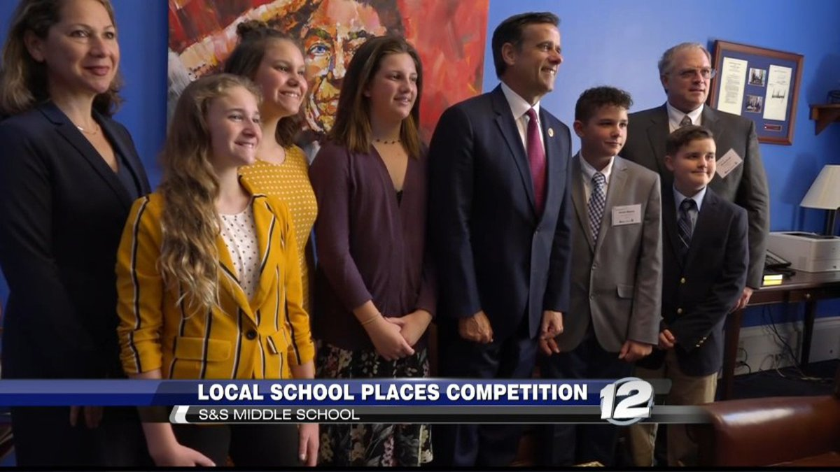 S&S Middle School students placed third in a national stocks competition.