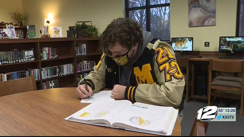 This week's A+ Athlete is Griffon Williams of Madill High School.