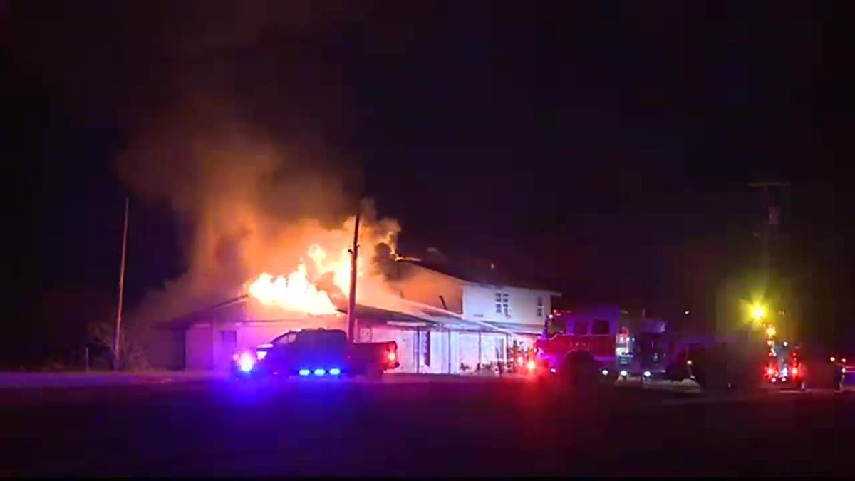 A family is without a home Monday after a fire destroyed their house.