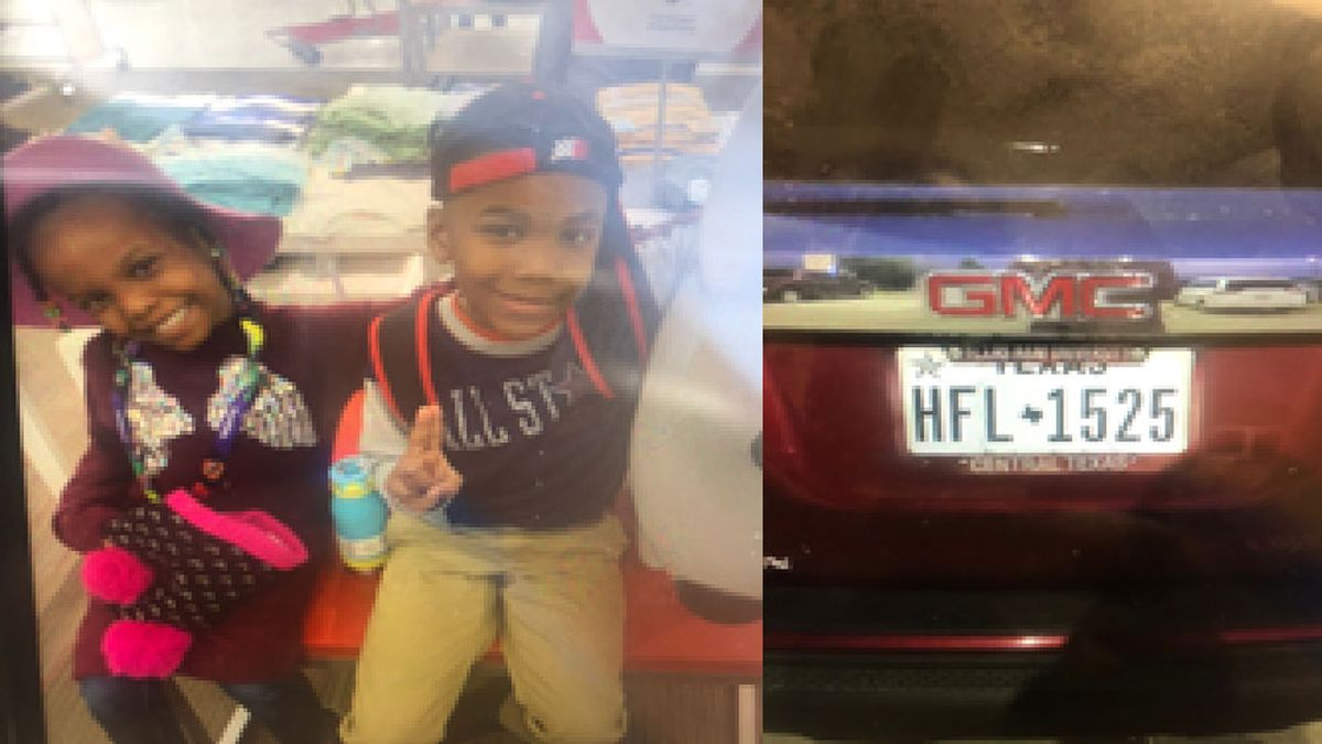 An Amber Alert has been issued for Princess and Preston Scarlett, who were in the backseat of a...