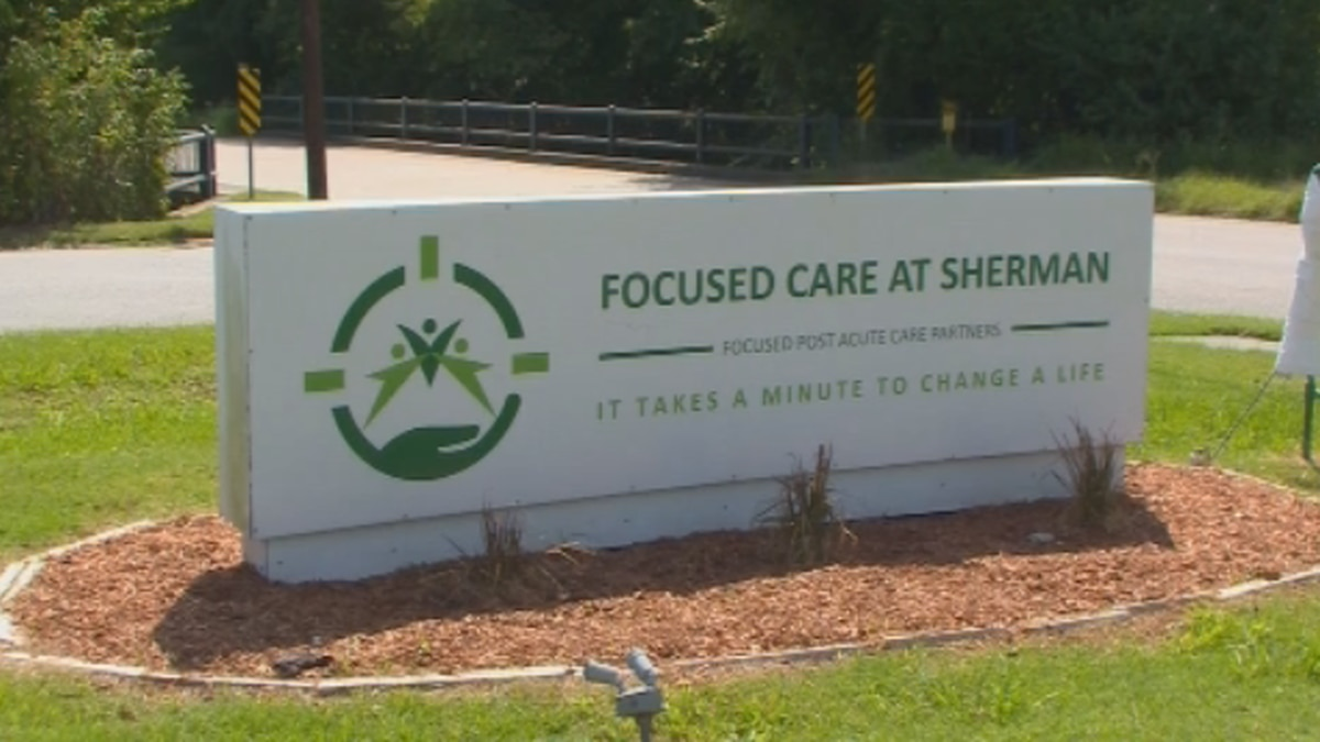 Focused Care at Sherman nursing home says there are 33 COVID-19 cases at their facility.