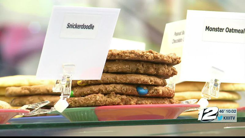 Eileen's Colossal Cookies in Ardmore was left in ruins after the winter storm went through town.