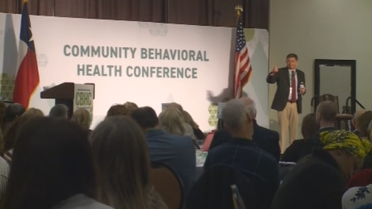Community leaders came together Thursday to talk about the way Texoma handles mental health. (KXII)