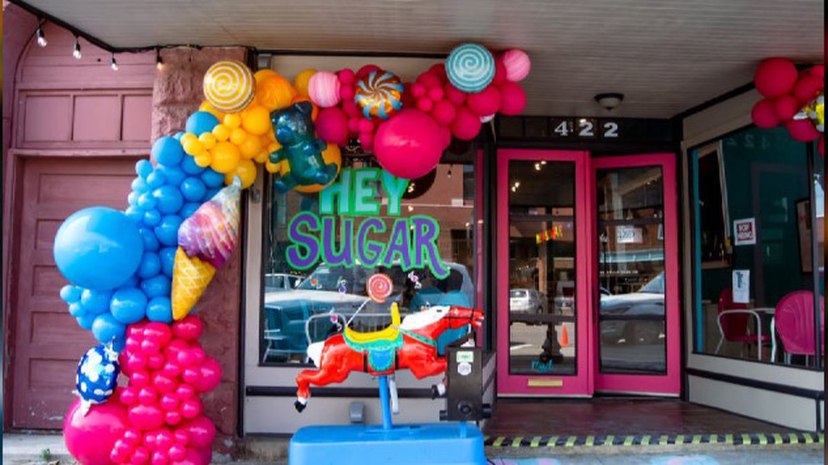 They're locally owned and feature nostalgic candy, retro sodas and homemade ice cream.