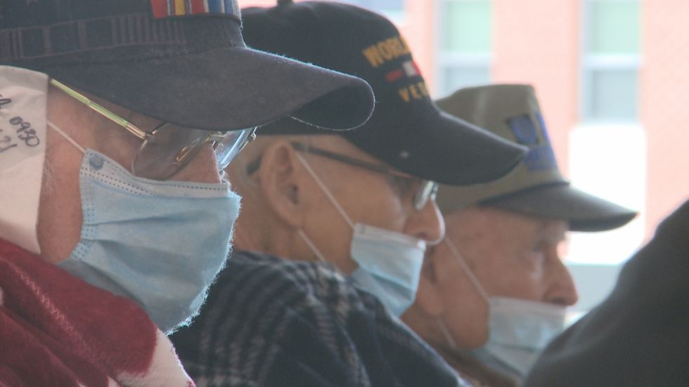 Quilts of Valor Foundation honors Ardmore veterans by supplying them with handmade quilts