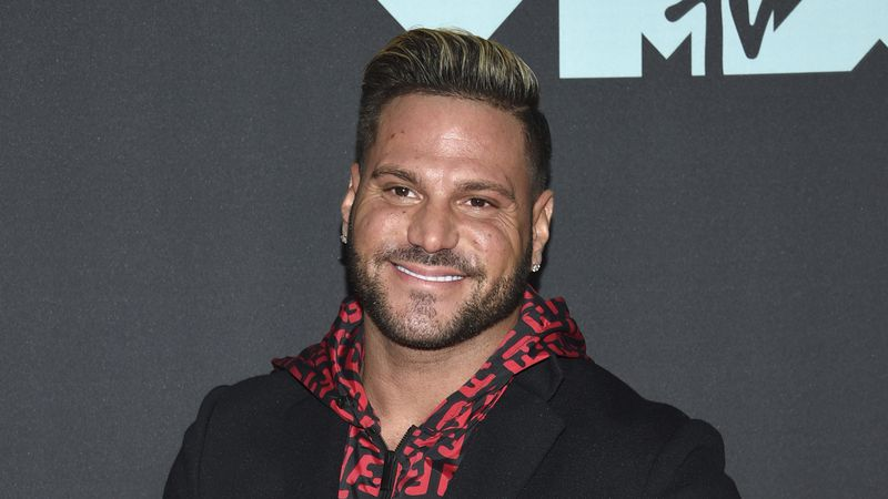 "This Aug. 26, 2019 file photo shows ""Jersey Shore"" cast member Ronnie Ortiz-Magro at the MTV..."