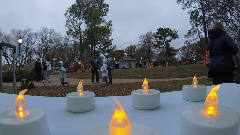 Carter County Community members took a moment today to honor the lives of those who have lost...