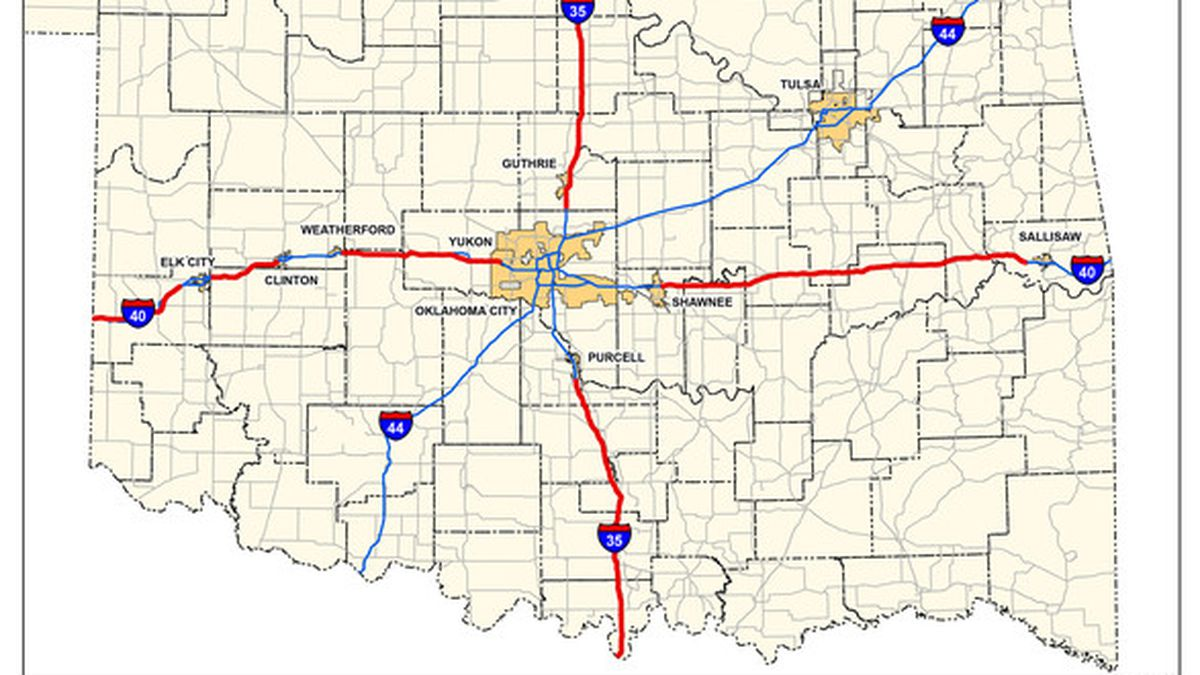 The Oklahoma Transportation Commission approved a plan to raise the speed limit from 70 to 75 miles per hour on nearly 400 miles of rural interstates.