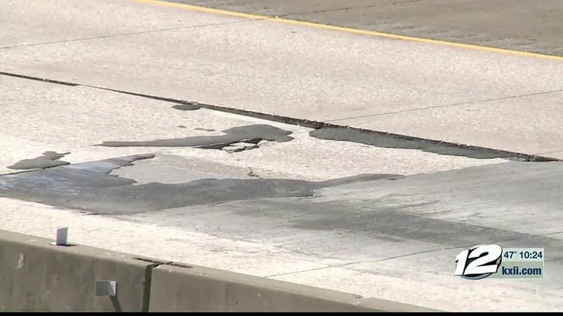 Many residents in Grayson County are taking to social media to warn others of potholes they've...