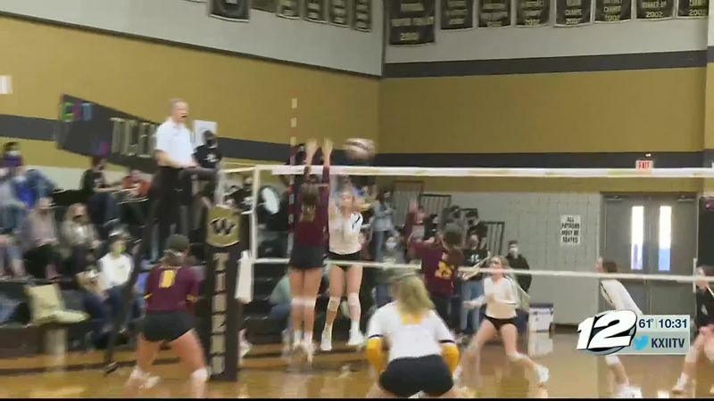 Bells-Whitewright Volleyball Highlights
