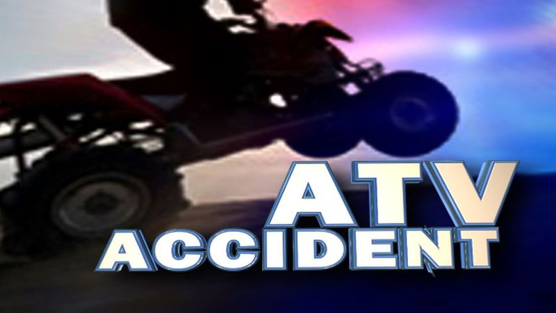 A man is dead after he fell off the back of an ATV, and was struck in Choctaw County.