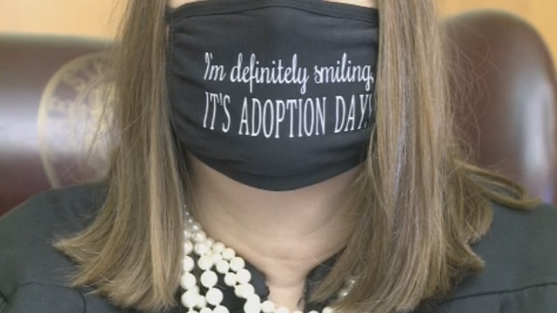 Several toddlers and teenagers were adopted in Grayson County on Friday for National Adoption...
