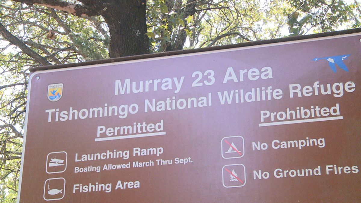 Oklahoma Department of Wildlife approved archery deer hunting and wild turkey hunting at the Tishomingo National Wildlife Refuge.