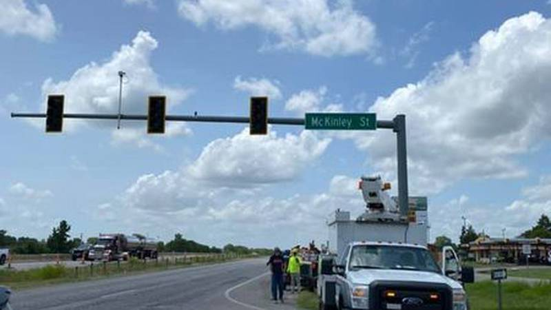 Construction continues on US 69/75 and North McKinley as traffic light is removed
